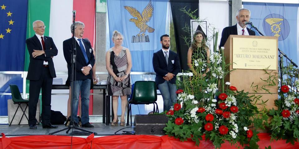 Discorso del Presidente dell'ITS, ing. Gianpietro Benedetti