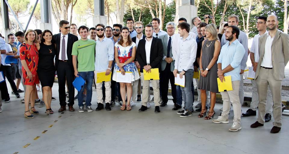 Allievi del corso ITS Manutentori degli Aeromobili 2013-2015