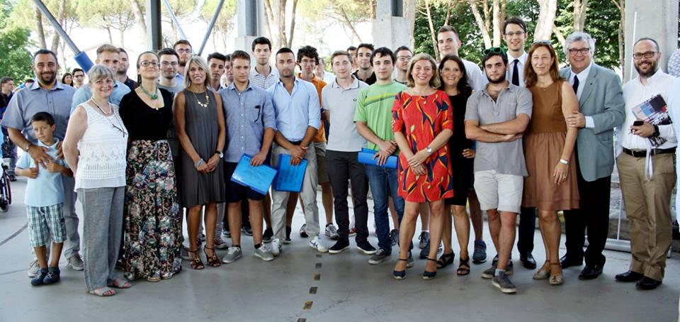 Allievi del corso ITS Meccatronico 2013-2015