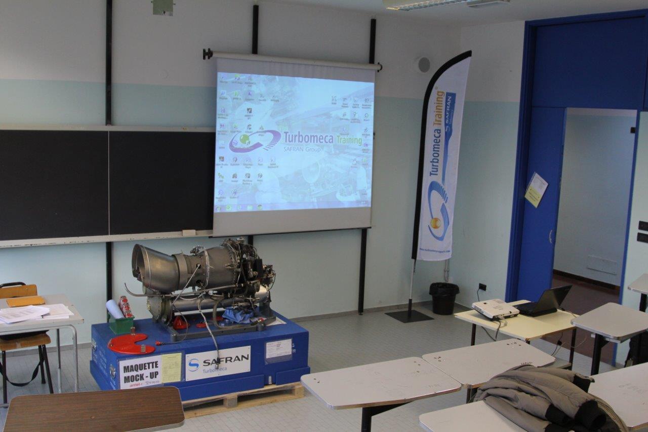 Corso motore Turbomeca Arriel Series 1