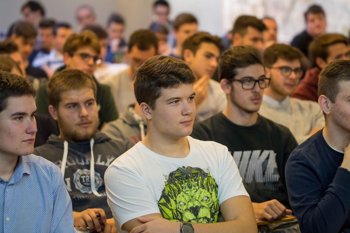 Studenti al Convegno Lean Organization