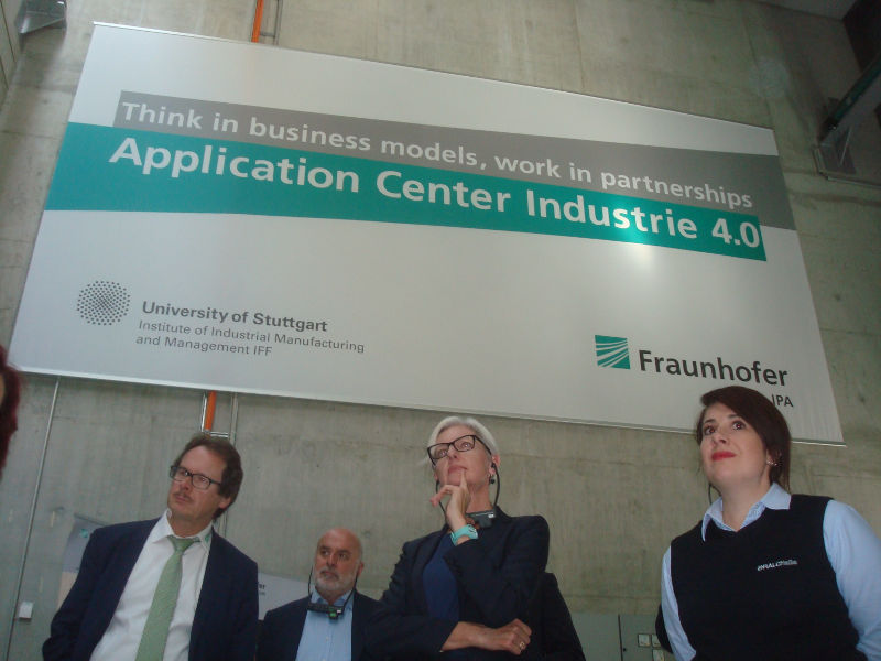 visita del Fraunhofer Campus di Stoccarda